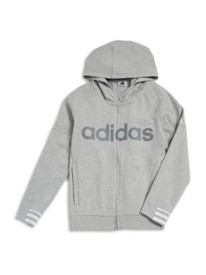Boy's Hooded Logo Sweatshirt...