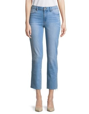 Distressed Cropped Jeans 500087867564