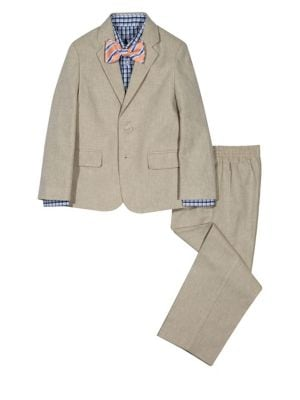 Boy's Four Piece Khaki...