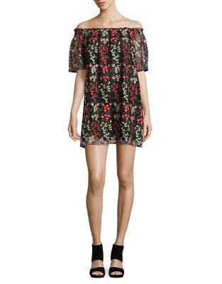 Off-the-Shoulder Mini Dress by BB Dakota
