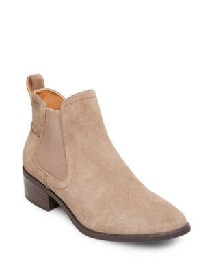 Dicey Suede Booties by Steve Madden