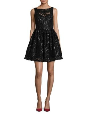 Sequined Fit-&-Flare Dress by BB Dakota