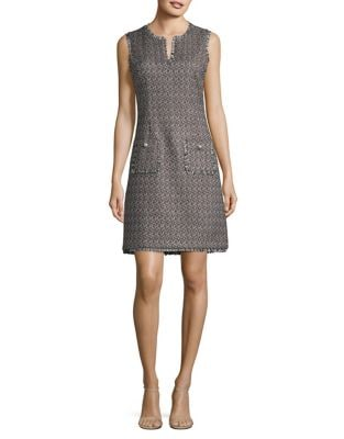 Tweed Shift Dress by Karl Lagerfeld Paris