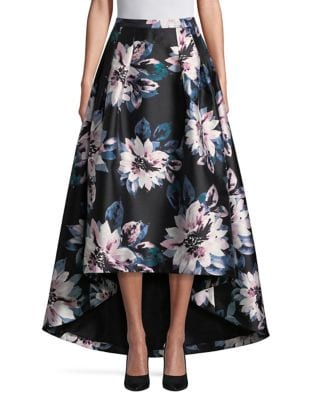 Floral Hi-Lo Skirt by Eliza J