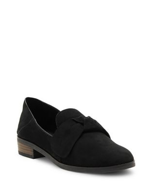 Cozzmo Leather Knot Loafers...