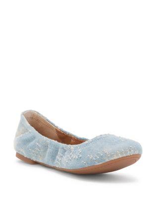 Emmie Denim Ballet Flats 500087880723
