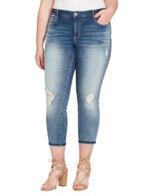 Plus Forever Rolled-Ankle Jeans 500087880824