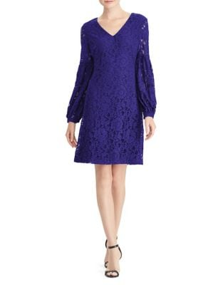 Floral Lace Sheath Dress by Lauren Ralph Lauren