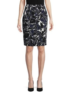 Printed Pencil Skirt...