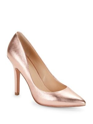Maxx Leather Pumps @...