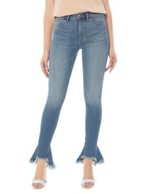 The Stiletto Frayed Jeans 500087905940