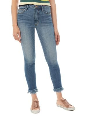 The Stiletto Frayed Jeans 500087905967