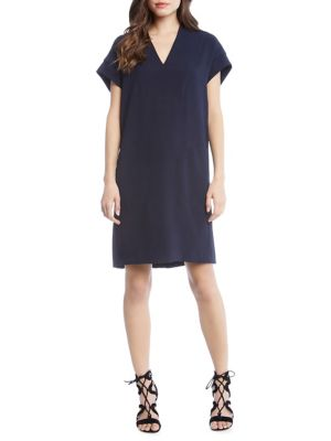 Sophie Short-Sleeve Shift Dress 500087908068