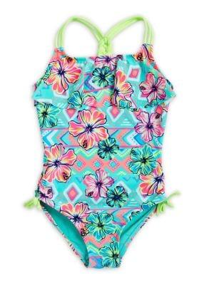 Little Girl's Tropical...