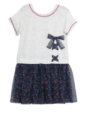 Little Girl's Short-Sleeve...