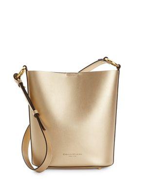 Leather Bucket Bag @...