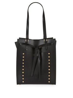 Studded Leather Tote 500087919242
