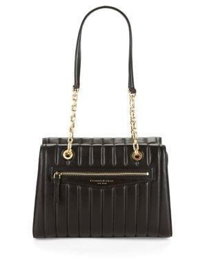 Quilted Leather Shoulder Bag 500087919283