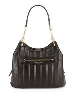 Erin Leather Hobo Bag 500087919287