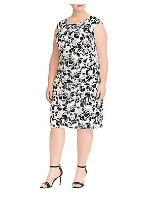 Lauren Ralph Lauren - Plus Sleeveless Day Dress
