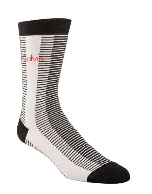 Multi-Stripe Crew Socks...