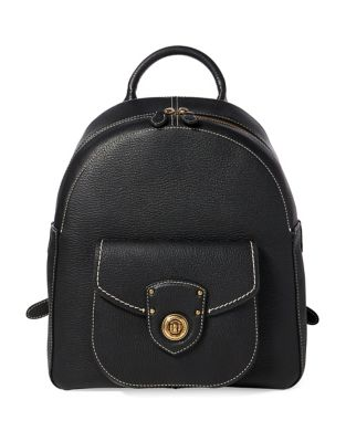 Medium Leather Backpack...