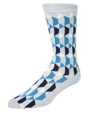 Geo Graphic Crew Socks...