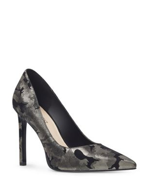 Tatiana Leather Pumps by Nine West