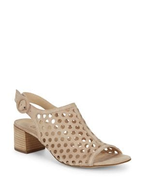 Rae Perforated Suede Sandals 500087934973