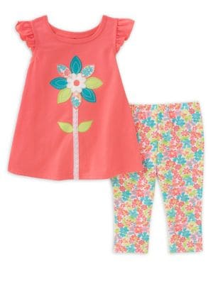 Baby Girls' Two-Piece...