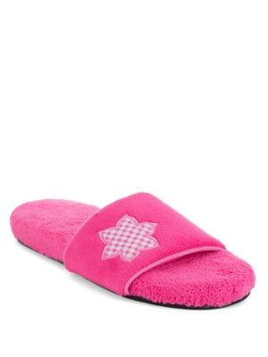 Abby Micro-Terry Slippers...
