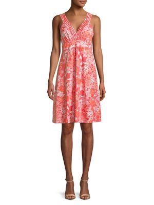 Boardwalk Blooms Floral Dress 500087945625