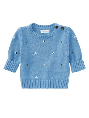 Baby Boy's Embroidered...