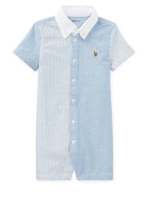Baby Boy's Stripe Cotton...