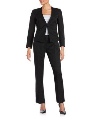 Pinstriped Suit by Tahari Arthur S. Levine