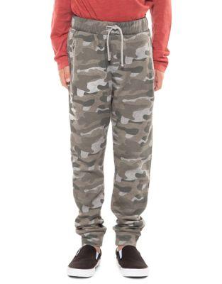 Boys CamoPrint Jogger Pants
