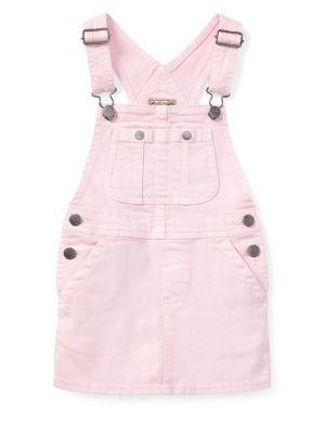 Little Girls Overall Dress