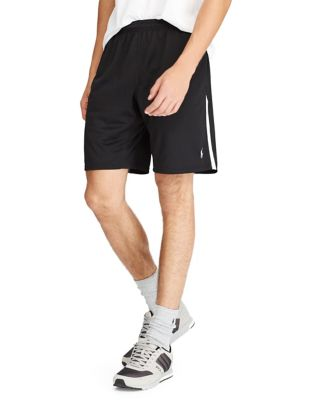 POLO RALPH LAUREN THERMOVENT ATHLETIC SHORTS, BLACK,NAVY,RED,WHITE
