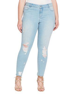 Plus Kiss Me Super Skinny Jeans 500087979525