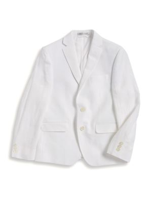 Boy's Linen Suit Jacket...