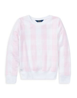 Girl's Gingham French...