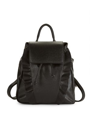 Ruffled Backpack @...