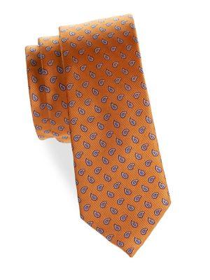 Boy's Paisley Silk Tie...