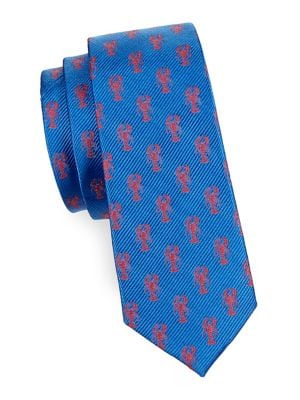 Boy's Lobster Silk Tie...