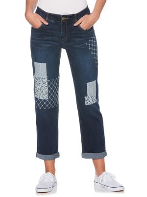 Classic Patchwork Jeans 500087992037