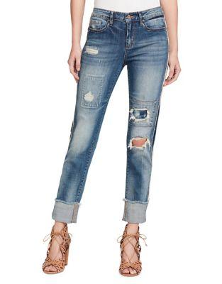 Arrow Straight Wide Cuff Jeans 500087997208