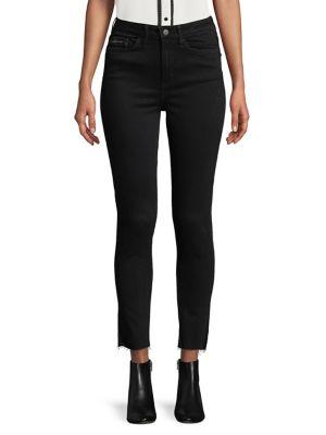 Distressed Crop Jeans 500087997738