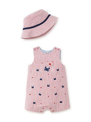 Little Me - Baby Boy's Two-Piece Crab Cotton
