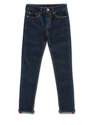 Girl's Skinny Jeans @...