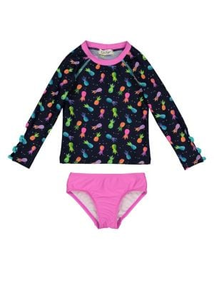 Girl's Two-Piece Pineapple...